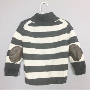 Cherokee Toddler Cable Knit Sweater Elbow Patch 2T